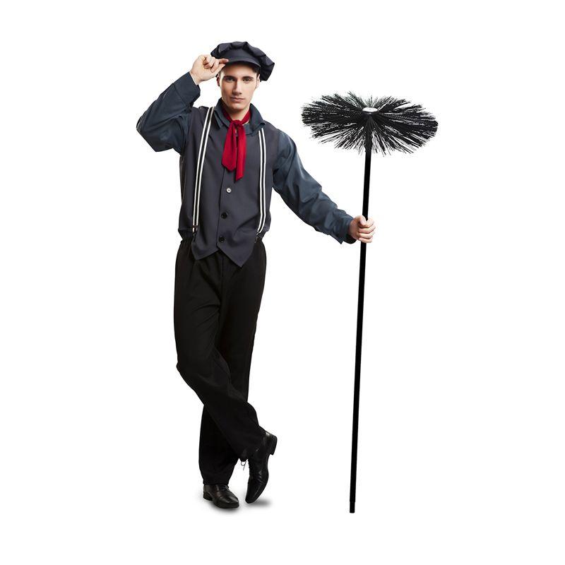 disfraz de deshollinador mary poppins adulto carnaval novedades2016 disfraces adulto 2016. Black Bedroom Furniture Sets. Home Design Ideas
