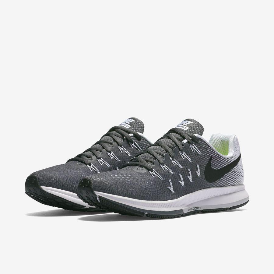 197a4cdc4388 Nike Air Zoom Pegasus 33 Dark Grey Black White 831356-002 Women s Running  Shoes Dark Grey Pegasus