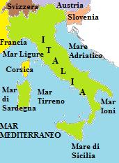Cartina Confine Italia Svizzera.I Confini Dell Italia Geografia Economica Confini Italia