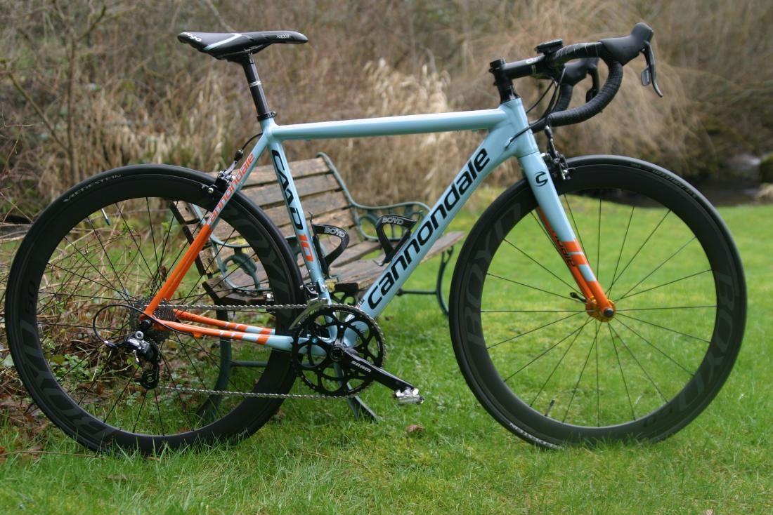 5dc816442d1 Cannondale CAAD 10 blue & orange | cycling | Road bike, Bike, Road bikes