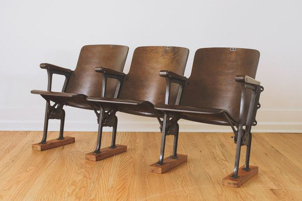 Antique Theater Chairs This Set Of Numbered Antique Folding Chairs