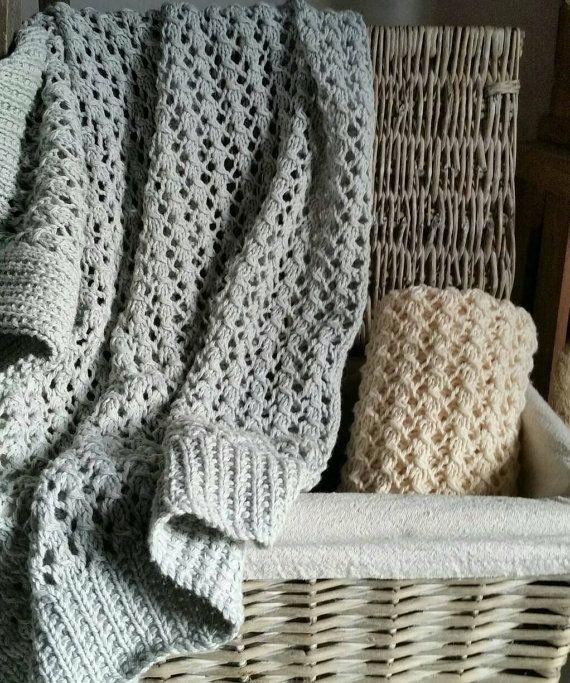 9d440de2e Baby Blanket Knitting Pattern PDF