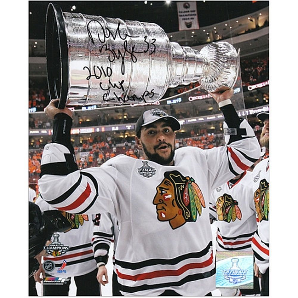 32c8b46e045 Dustin Byfuglien Chicago Blackhawks Fanatics Authentic Autographed 8