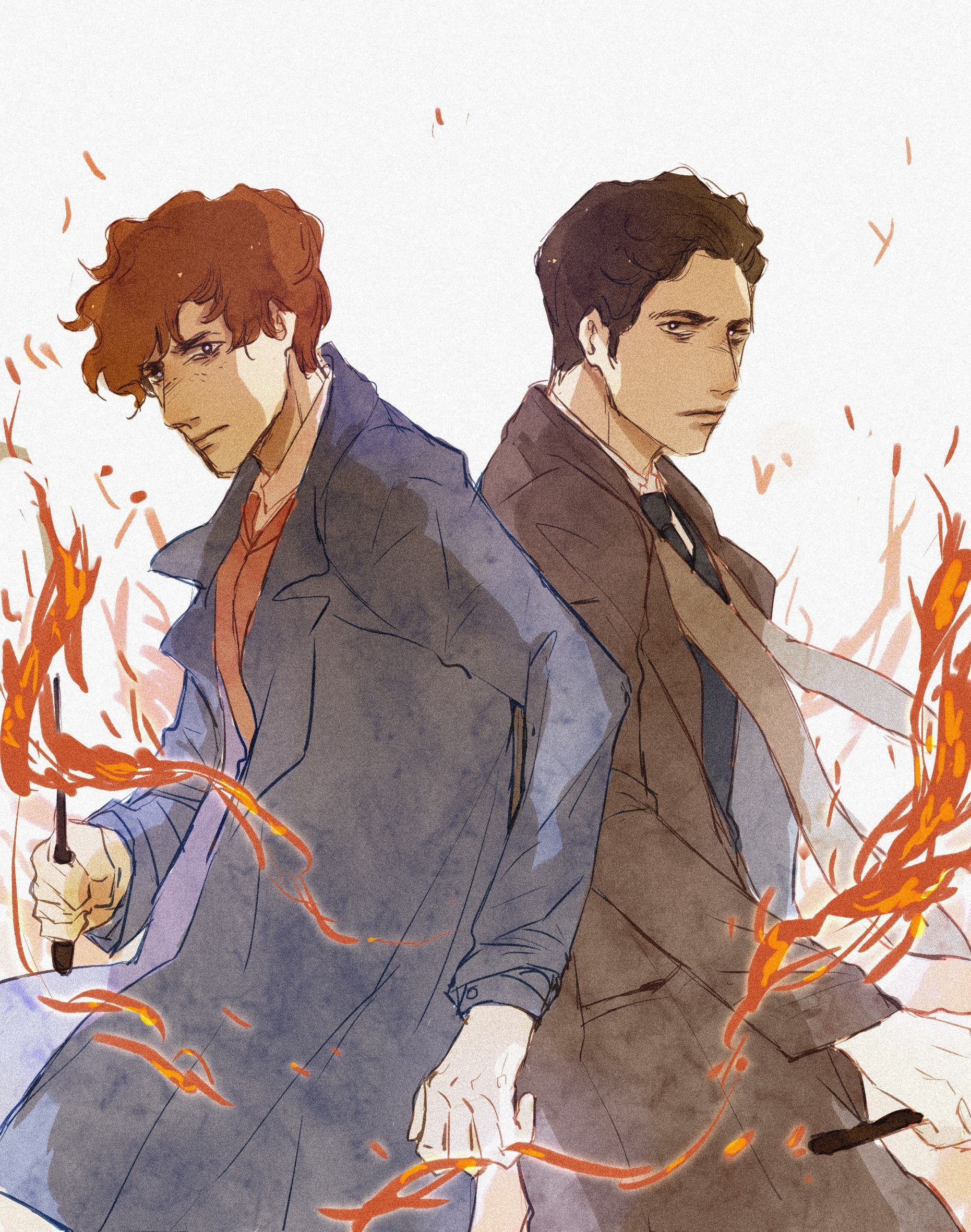 Newt Scamander and his brother | Nerdy in 2019 | Fantastic
