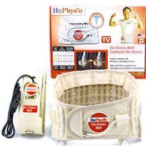 Dr. Ho's Decompression Belt is de nieuwe innovatie tegen rugpijn. Doe hem om uw middel, pomp hem op en voel hoe uw ruggengraat wordt gerekt en uw rugpijn wordt verlicht.