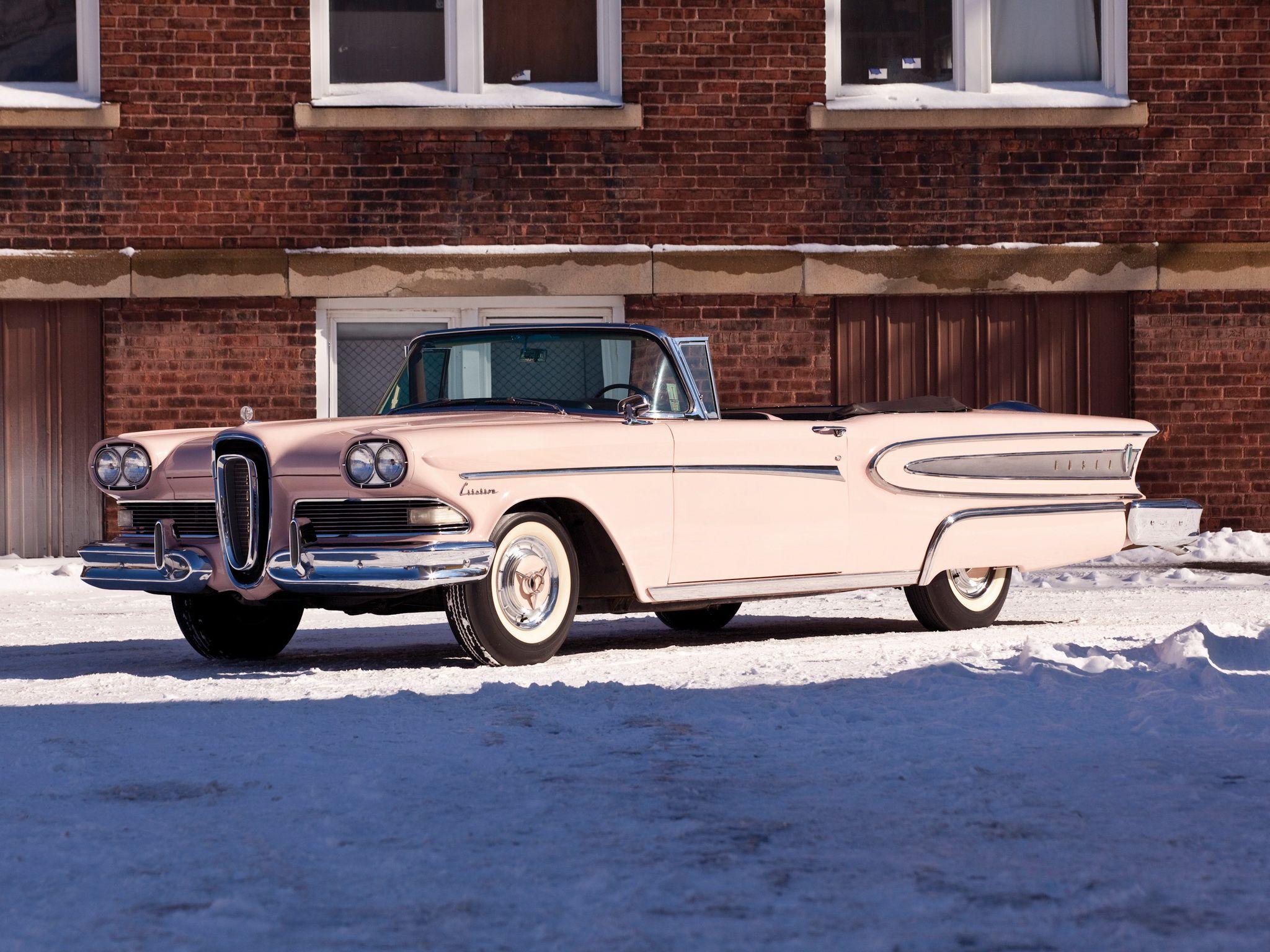 1958 edsel citation 2 door convertible 1951 to 1959 carz. Black Bedroom Furniture Sets. Home Design Ideas