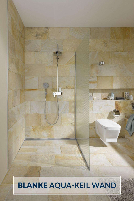 Gefallekante Aus Edelstahl Perfekt Einsetzbar Bei Bodengleichen Duschen Blankesystems Blankeaquakeilwa In 2020 Badezimmer Badezimmer Renovierungen Dusche Einbauen