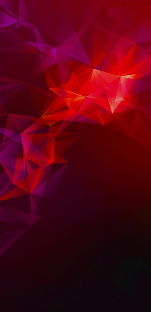 Official Wallpaper  For Samsung Galaxy S And Samsung Galaxy S With Dark Red Polygons