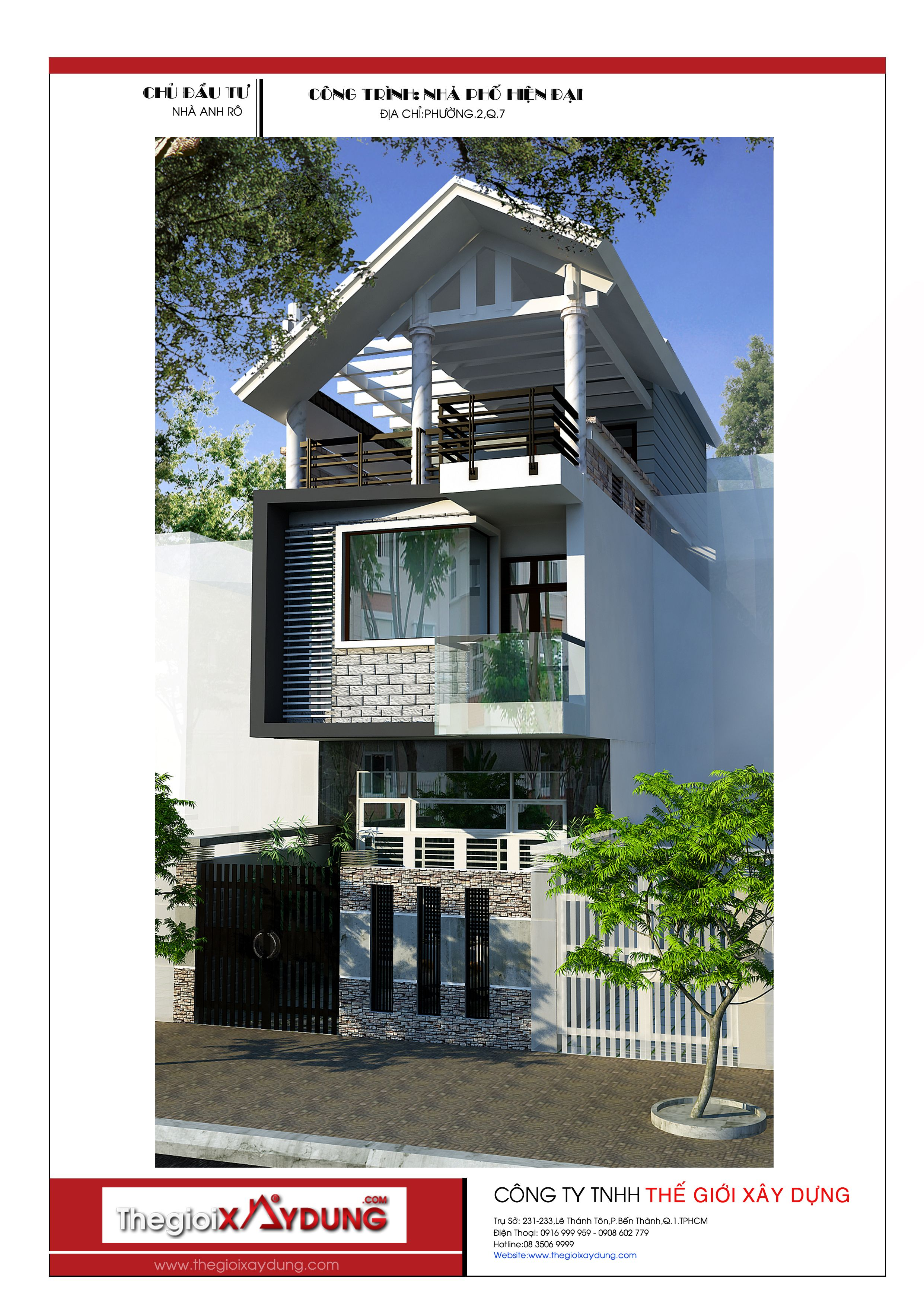 M U Thi T K Nh Ph Hi N I V Cao C P Thi T K Nh P Pinterest House Design House