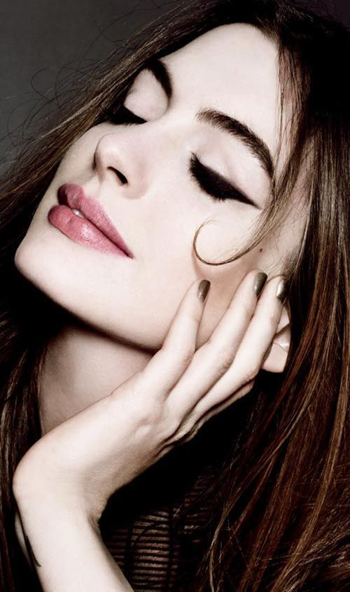Happy November Anne Hathaway Pinterest Beauty Makeup And Hair