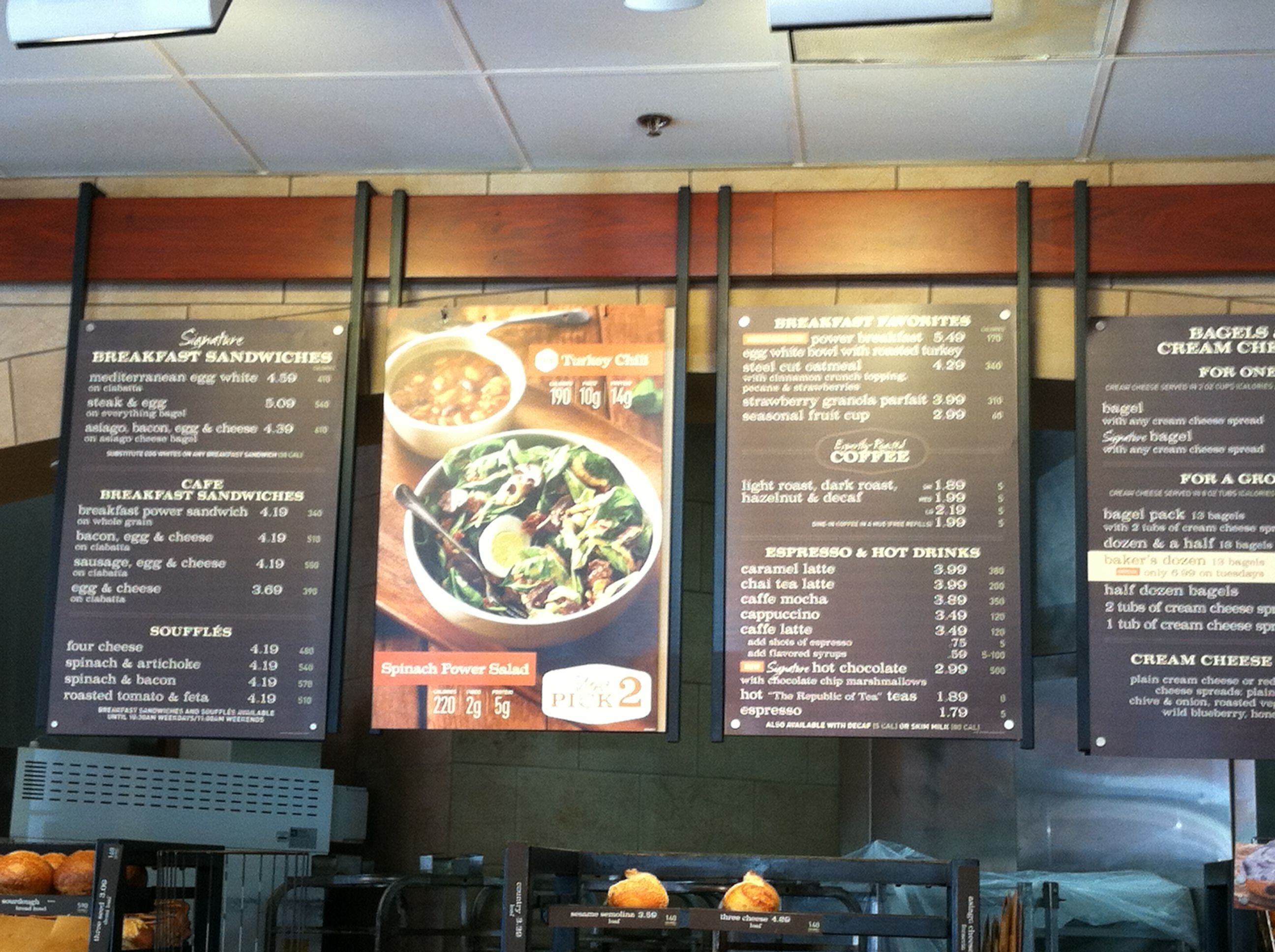 photograph about Panera Printable Menu identify Panera menu discussion boards Cafe+Marketing and advertising in just 2019 Restaurant