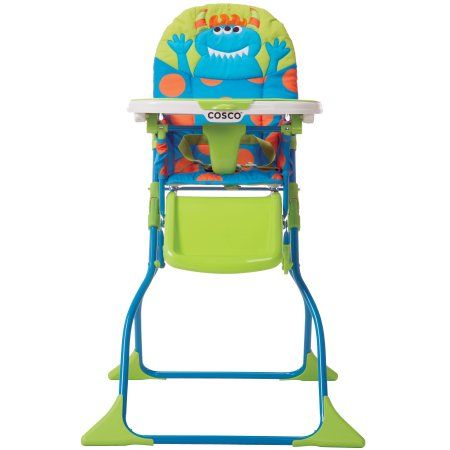 Cosco Simple Fold Deluxe High Chair Choose Your Character Walmart