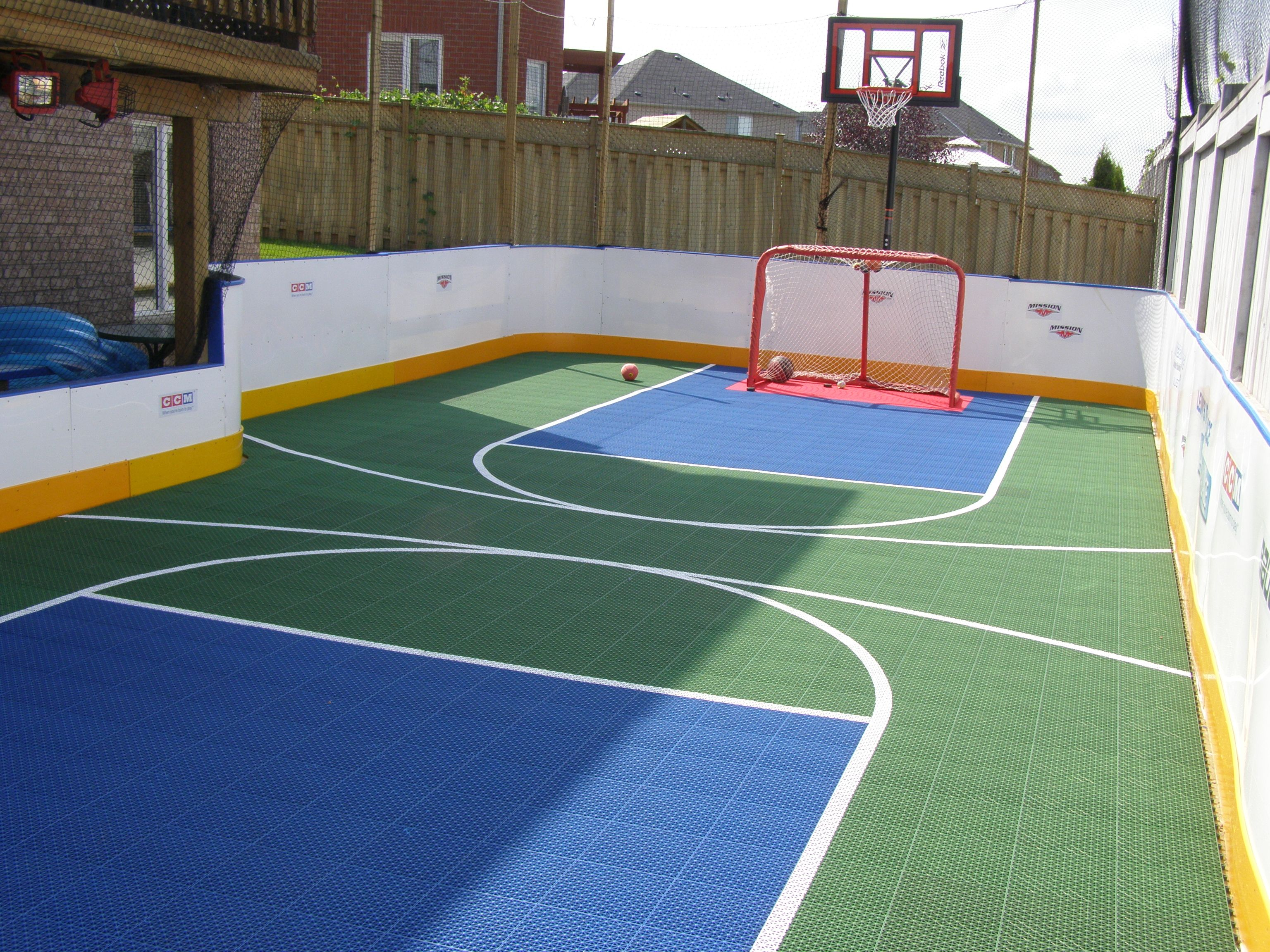 Flex court athletics builds a variety of courts including for Outdoor sports court