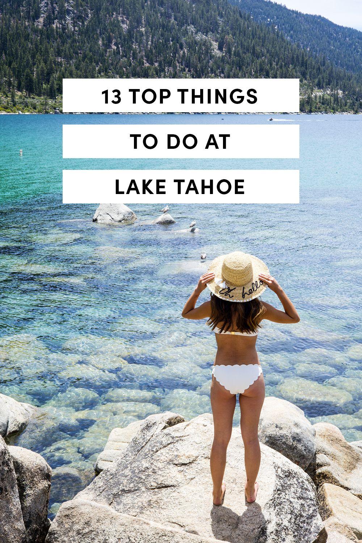 13 top things to do in lake tahoe | travis | pinterest | lake tahoe