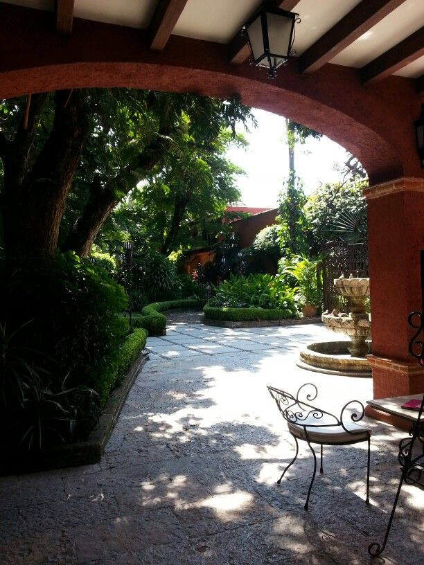 Colonial patio Interiores Pinterest Colonial and Patios