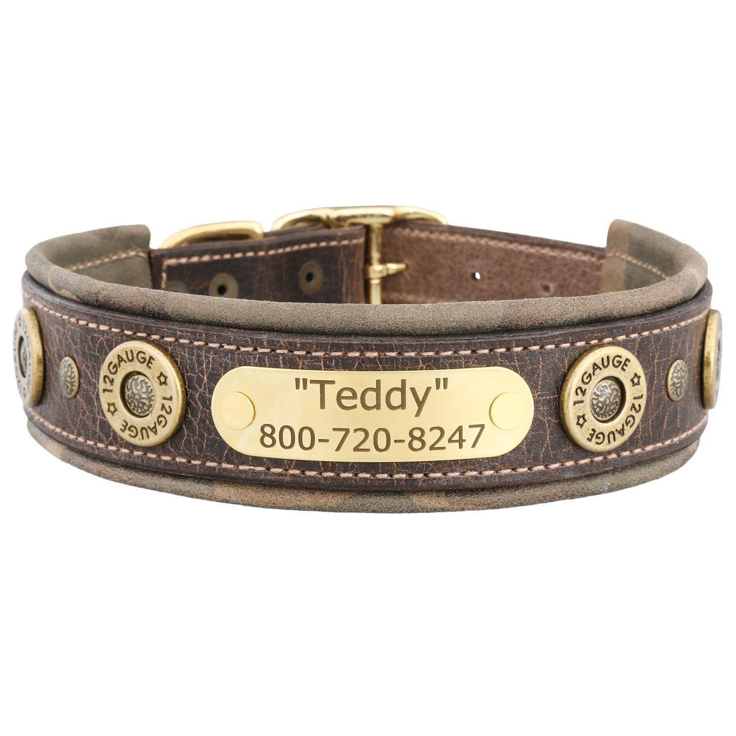 Hornaday Artisan Padded Leather Dog Collar With Nameplate Diy Dog Collar Personalized Dog Collars Dog Collars Girly
