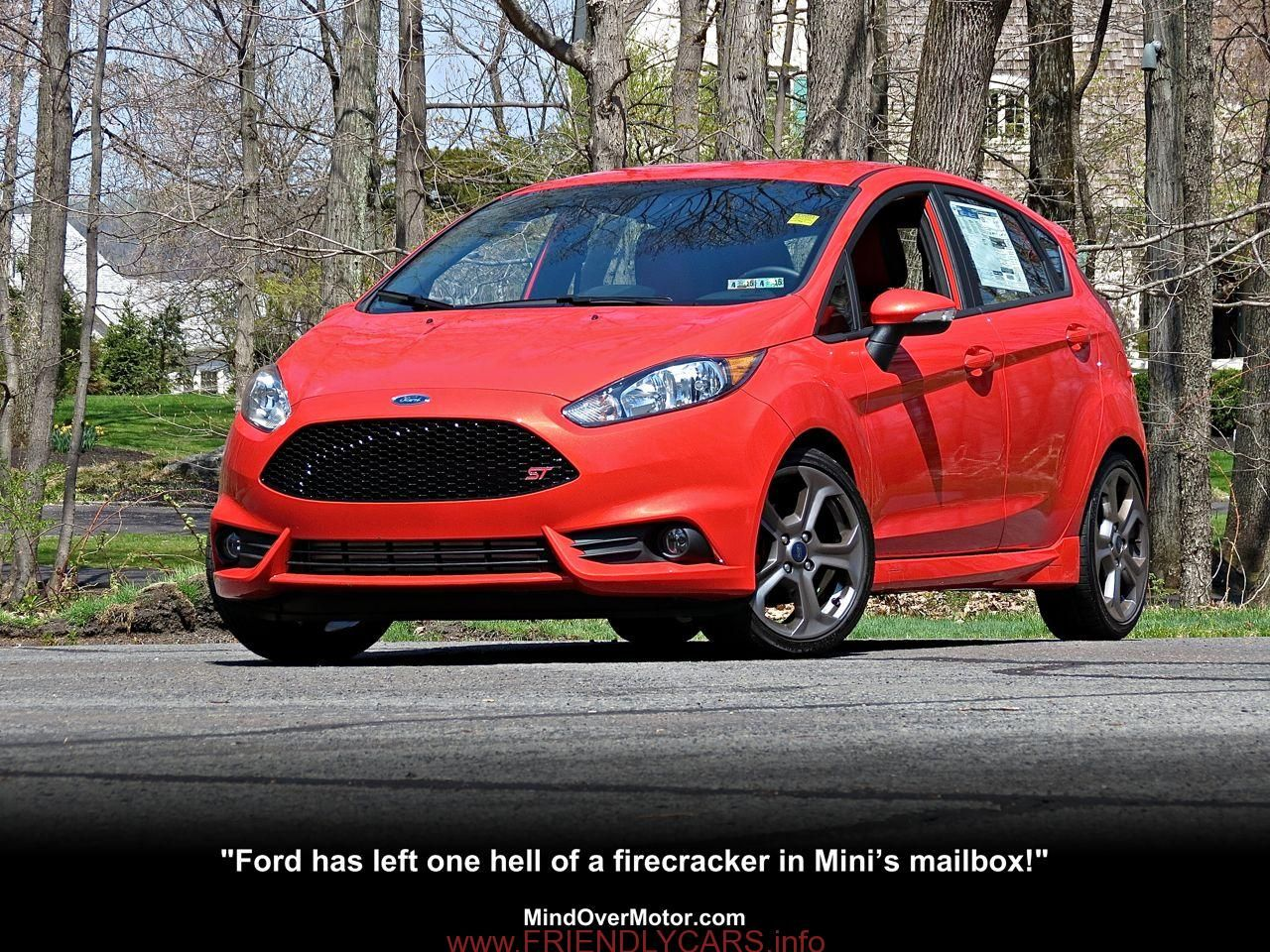 Nice ford fiesta st 2014 orange car images hd 2014 ford fiesta st reviewed 9510 mind