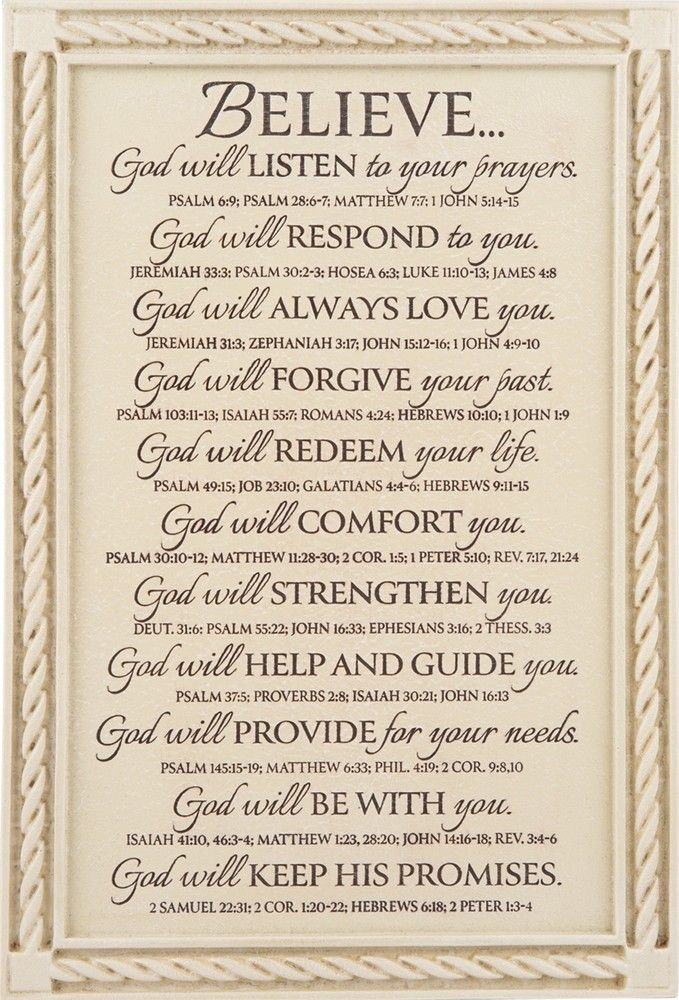 God/'s Promises Religious Wall Art Revelation 3:5 Verses In The Bible