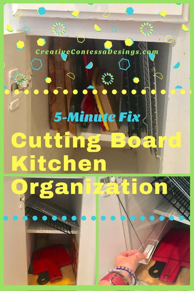 Minute fix shelf divider in the kitchen kitchen organization