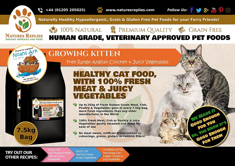 NATURES REPLIES Natural Healthy Human Grade Veterinary