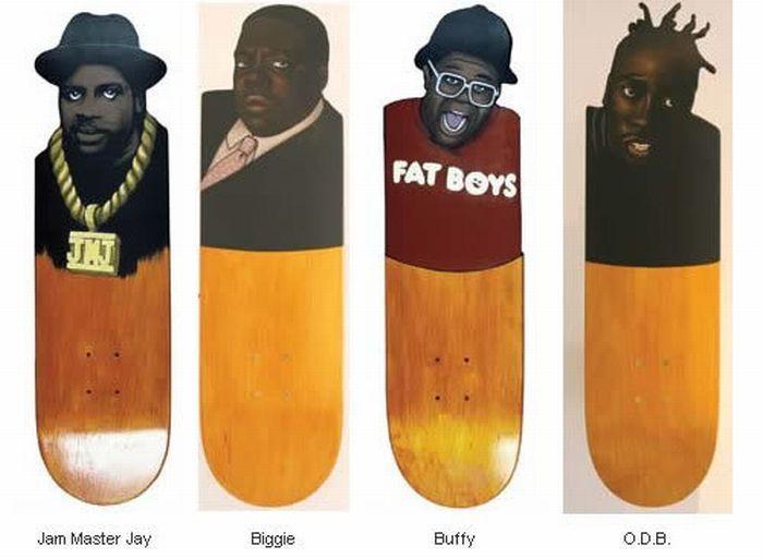Legends Deck Skateboard Art Skateboard Skateboard Design