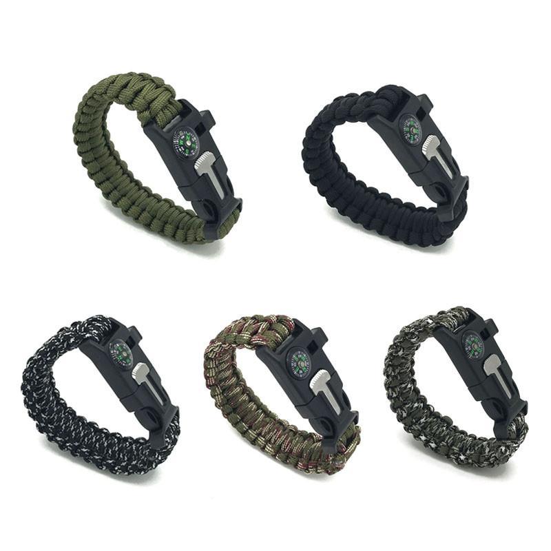 Heavy Duty Survival Paracord Bracelet 3 In 1 Survival Kit Our