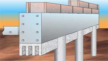 Grade Beam Void Form System For Protection For Grade Beams From Frost And Expanding Clay Soils Frost Cushion Manufactu Concrete Structure Beams Retaining Wall