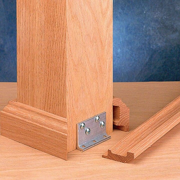 Image result for stair post brackets
