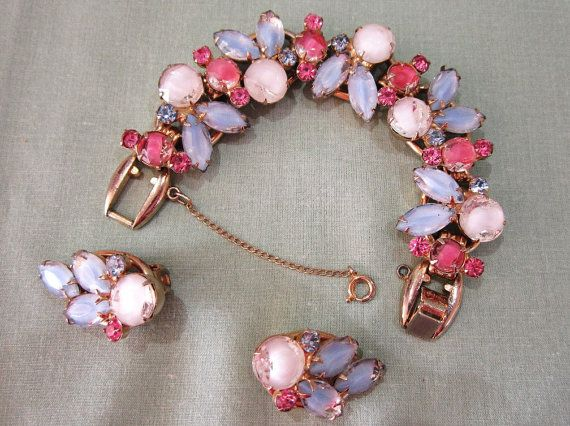 Juliana Delizza & Elster Pink and Blue Bracelet and by COBAYLEY, $125.00