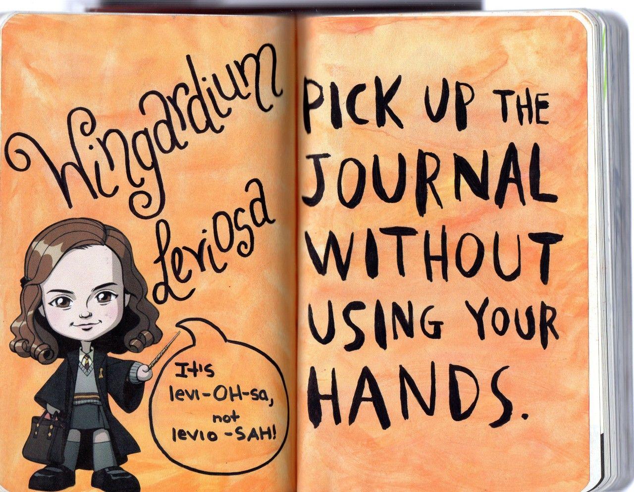 Activité : Wreck this Journal / Saccage ce carnet - version Harry Potter - 2