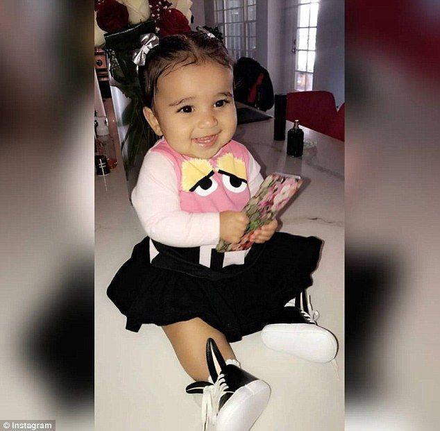 Blac Chyna Announces Baby Dream Has 6 Teeth Dream Kardashian Dream Kardashian Baby Kardashian Kids