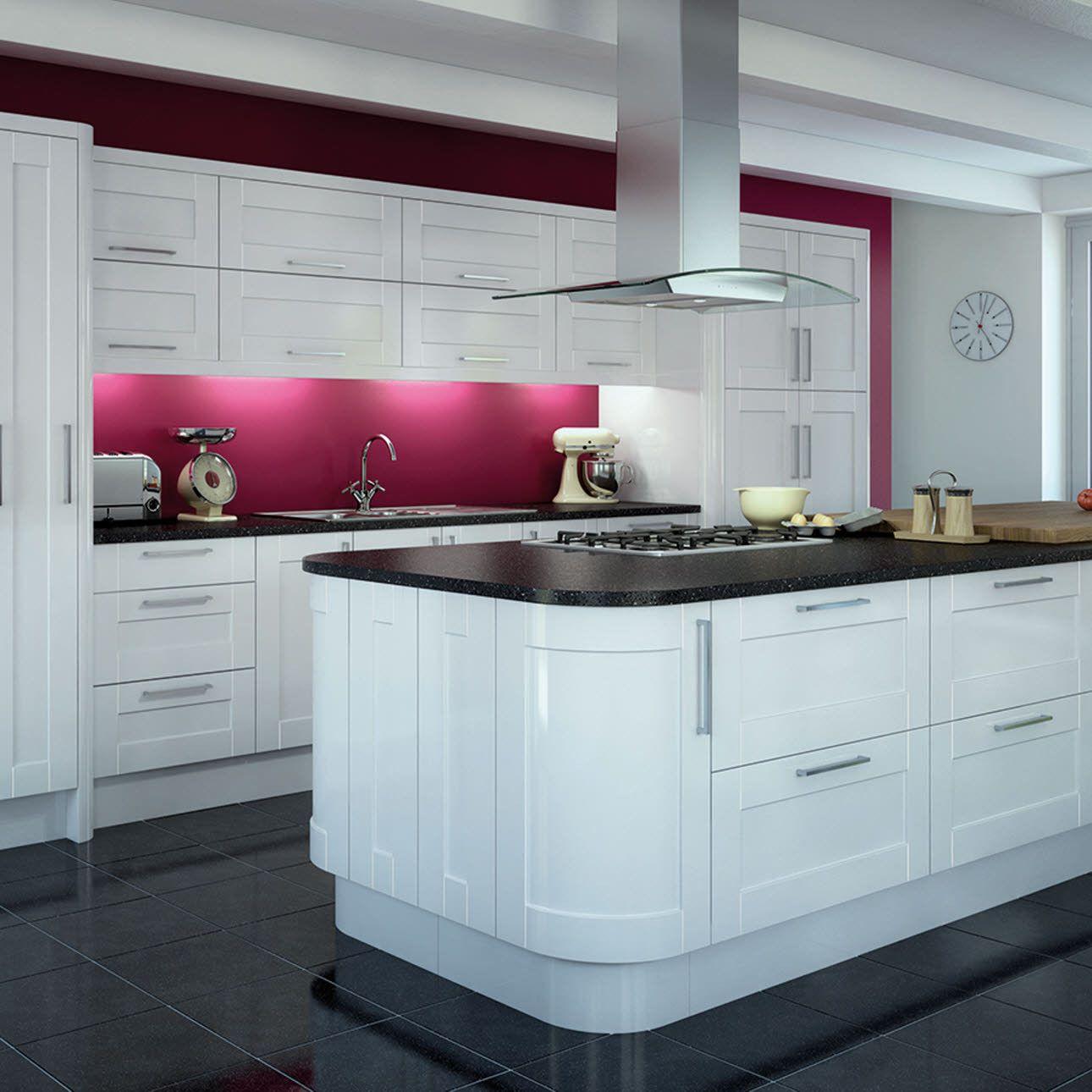 99+ Shiny White Kitchen Cabinets - Apartment Kitchen Cabinet Ideas ...