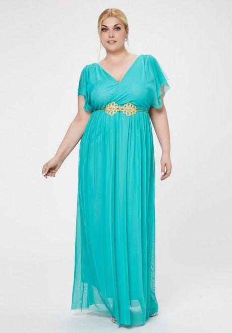 vestidos verdes tallas grandes | plus | dresses, formal dresses y