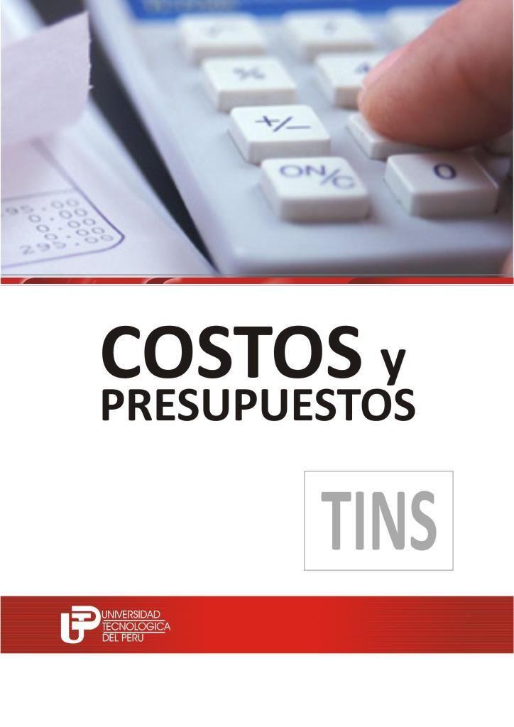 Costos Y Presupuestos Utp Freelibros Contabilidad De Costos Contabilidad De Gestion Contaduria Y Finanzas