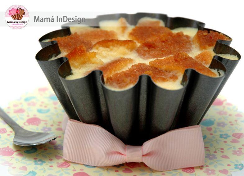 Mamá InDesign: Pudding Cremoso con Bizcocho y Coco