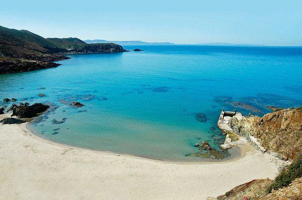 Spiaggia di Nebida, Iglesias (Sardegna)