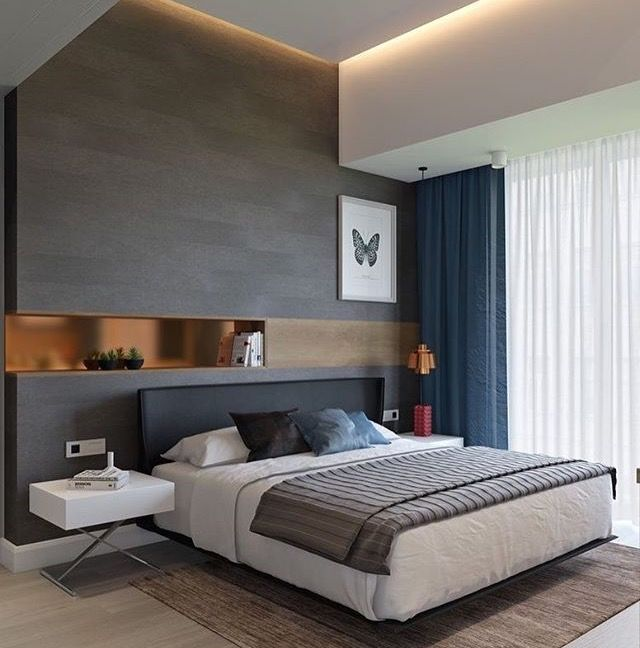55 Creative Unique Master Bedroom Designs And Ideas: Parede Vazada Do Closet