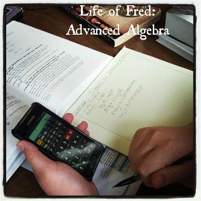 Blog, She Wrote: Advanced Algebra {High School Math Update}