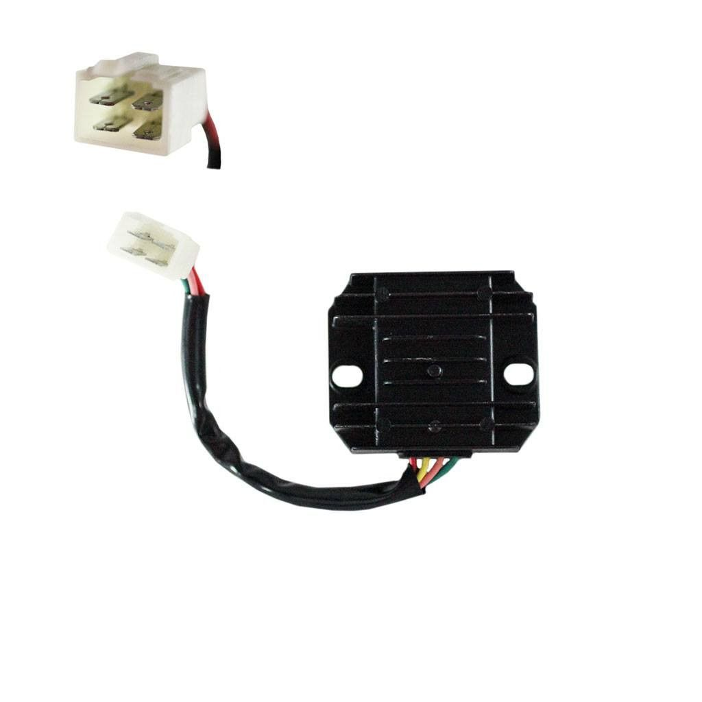 Chinese 4 Wire 1 Plug Voltage Regulator Rectifier For Gy6 125cc Wiring A 150cc Dirt Bikes Scooters Atvs Version 39 Regulators Regulate The Electric