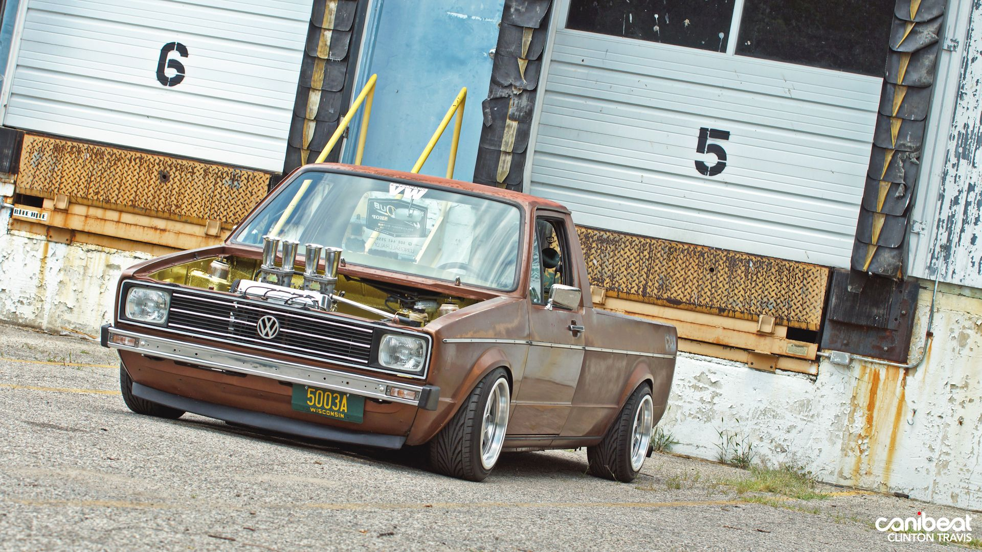 volkswagen rabbit truck lowered. custom culture vw caddy pick up, love the early grills with squares volkswagen rabbit truck lowered