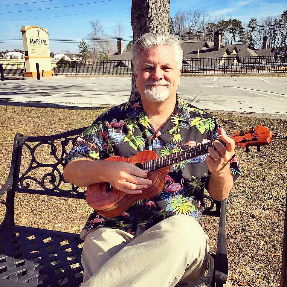 Taking a KoAloha break on a warm winter's day in Georgia