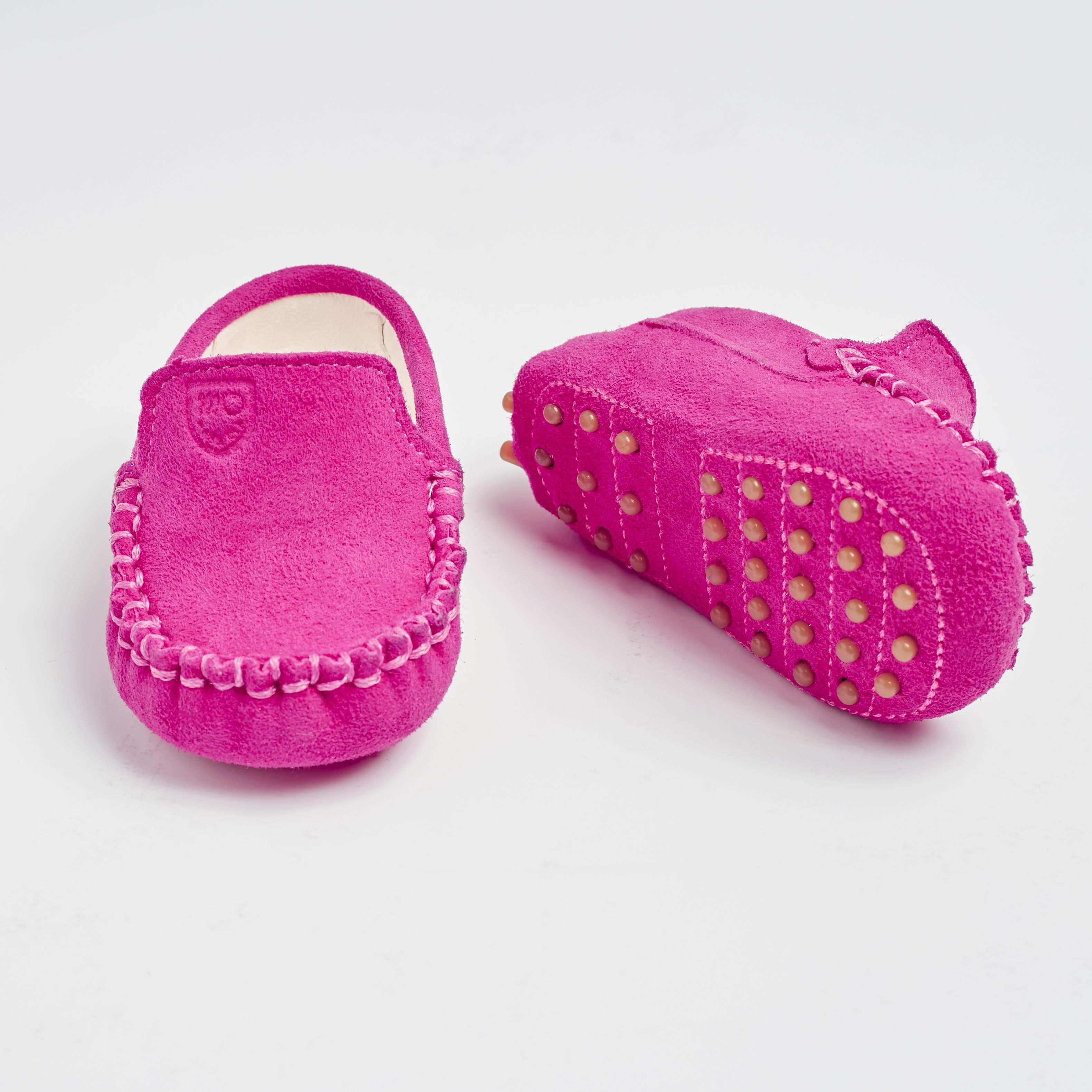 TOT MOCCASINS ecofriendly baby shoes pink suede! Baby