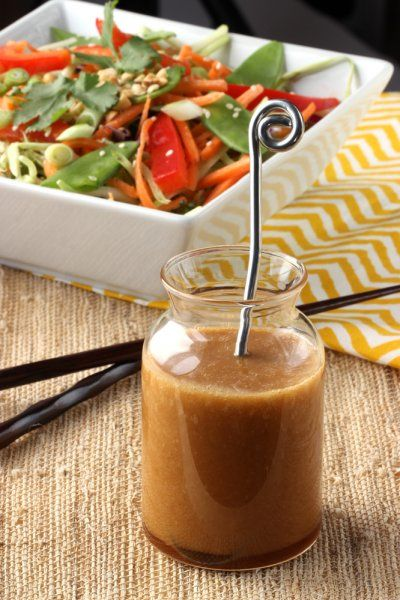 Cooking on the Front Burner: Asian Slaw with Ginger Soy Dressing