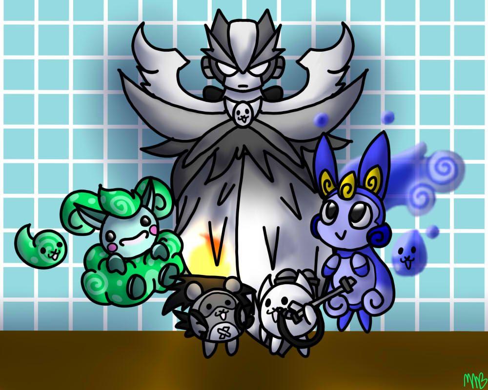 All of my friends Ubers in Battle Cats (Aer, Kachi Kachi