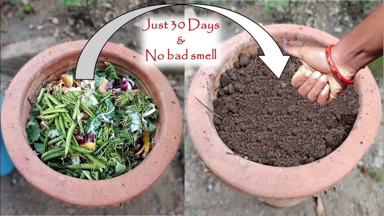 How To Make Compost At Home With Kitchen Garden Waste