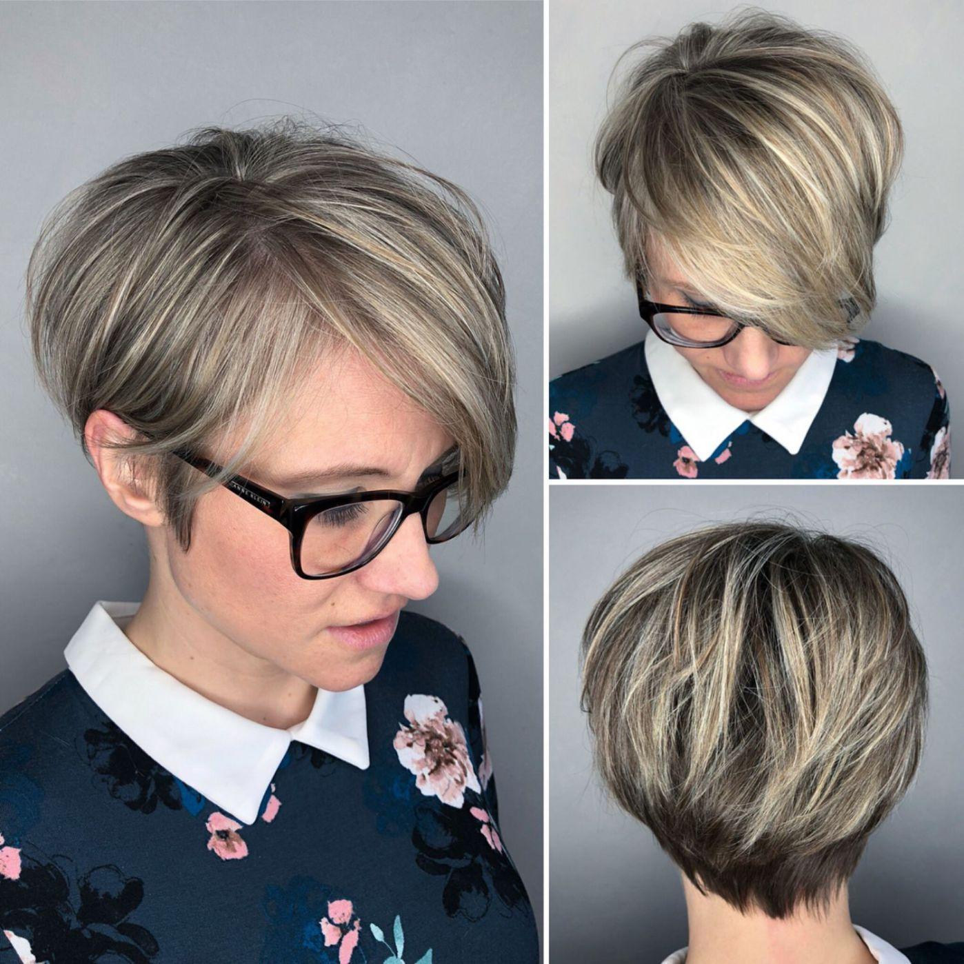 short voluminous bob hairstyle