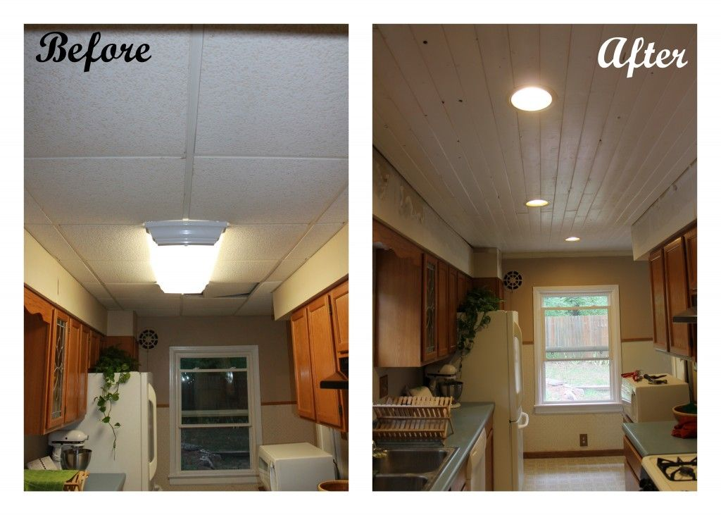 Kitchen Ceiling Redo By Found And Free Cottage Ceiling Remodel Dropped Ceiling Kitchen Ceiling