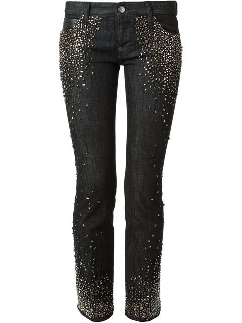 7eb82a2f189 DSQUARED2 Skinny Studded Jeans.  dsquared2  cloth  jeans