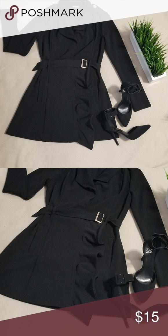 Fashion Nova Pea Coat Light, Fashion Nova Pea Coat