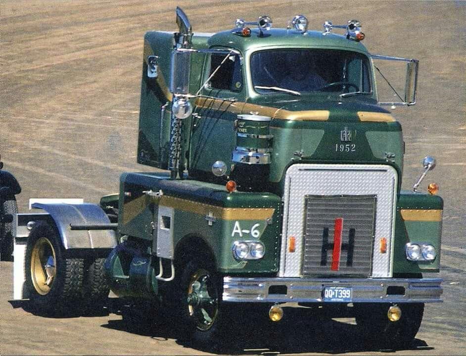 Antique International Harvester Semi Tractor : Coe international vehicle stuff pinterest rigs